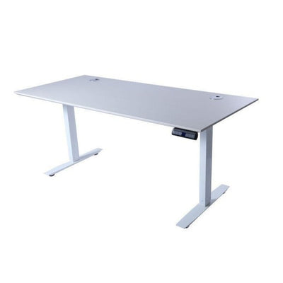 ApexDesk Flex Pro Series 66 inch Standing Desk 3D View White