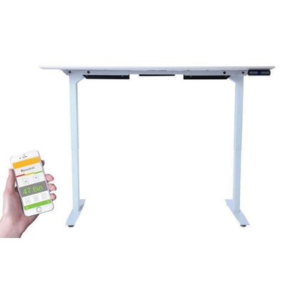 ApexDesk Flex Pro Series 66 inch Standing Desk Top Front View Raised
