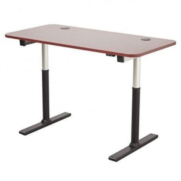 ApexDesk Vortex Series 60 inch Standing Desk Cherry Close Up
