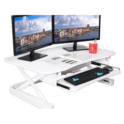 ApexDesk ZT Electric Desk Riser White