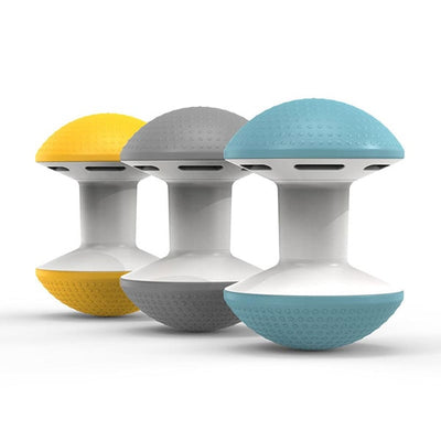 Humanscale Ballo Chair Yellow Gray Blue