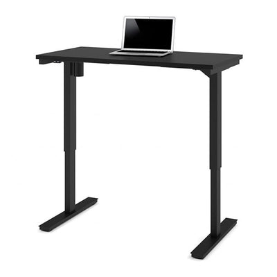 Bestar 24 x 48 Electric Table Black