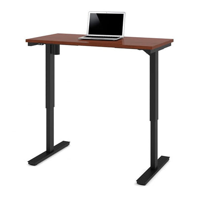 Bestar 24 x 48 Electric Table Bordeaux