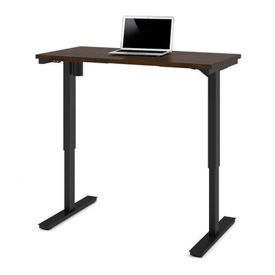 Bestar 24 x 48 Electric Table Chocolate