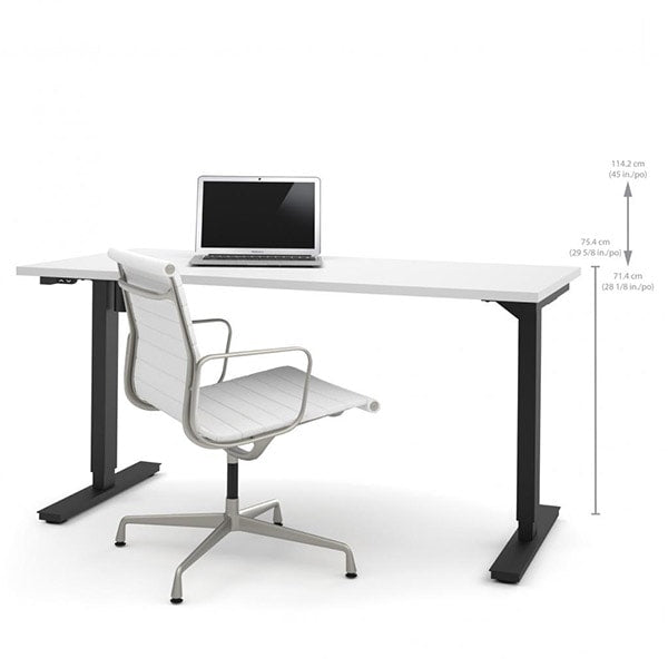 Bestar 30 Quot X60 Quot Electric Height Adjustable Table 65867