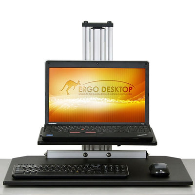 Ergo Desktop Kangaroo Junior Laptop Front View Low