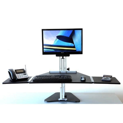 Ergo Desktop Kangaroo Pro With Extended Keyboard Tray