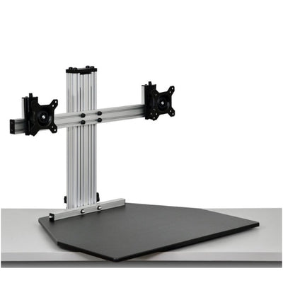 Ergo Desktop Wallaby Elite Standing Desk Converter 3D View Low