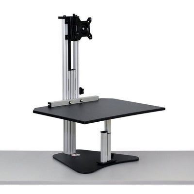 Ergo Desktop Wallaby Junior Standing Desk Converter 3D View High
