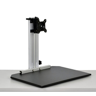 Ergo Desktop Wallaby Junior Standing Desk Converter 3D View Low