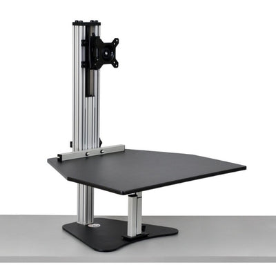 Ergo Desktop Wallaby Standing Desk Converter 3D View High