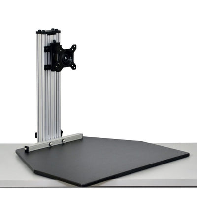 Ergo Desktop Wallaby Standing Desk Converter 3D View Low