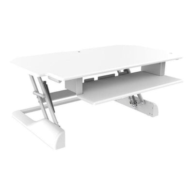 Ergotech Freedom Desk 42 3D View White