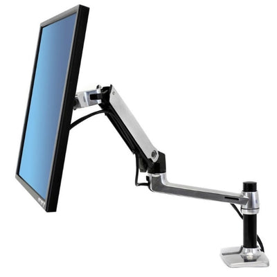 Ergotron LX Monitor Arm Side View Facing Left