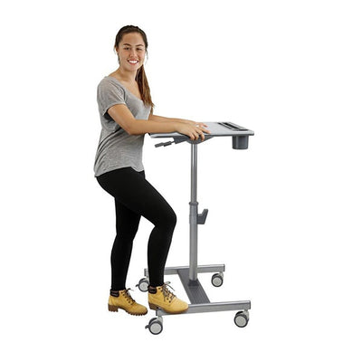 Ergotron LearnFit SE Side View Standing