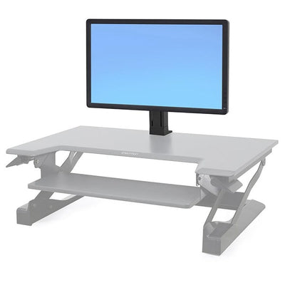 Ergotron Workfit Single HD Monitor Kit Front View