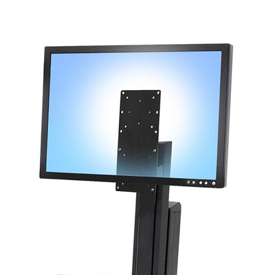 Ergotron Workfit Single Tall User Kit  3D View Close Up