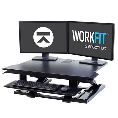 Ergotron Workfit TX 3D View