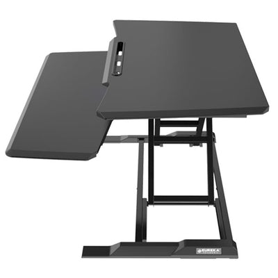 Eureka Electric Standing Desk Converter Side View