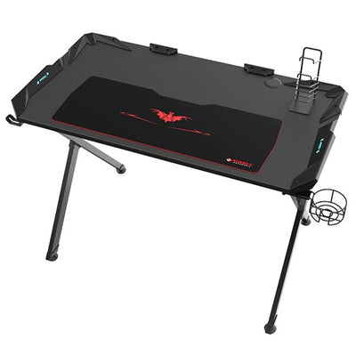 Eureka X1-S Gaming Desk Top Front View