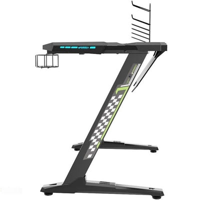 Eureka Z1-S Gaming Desk Side View