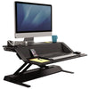 Fellowes Lotus Black 3D View Facing Right
