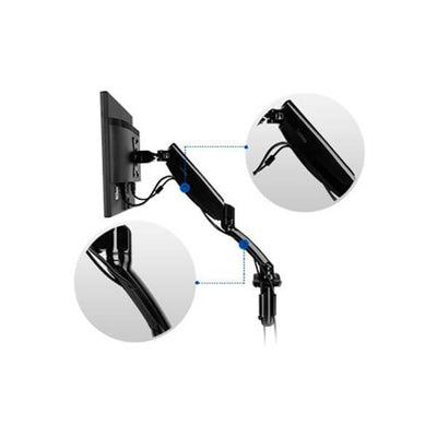 Fleximount Monitor Arm Features Cordless