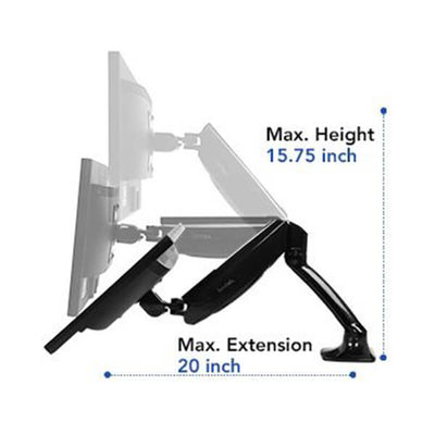 Fleximount Monitor Arm Features Reach
