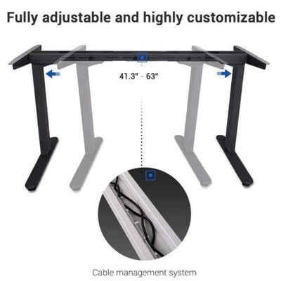 Flexispot Electric Height Adjustable Desk With Cable Management System