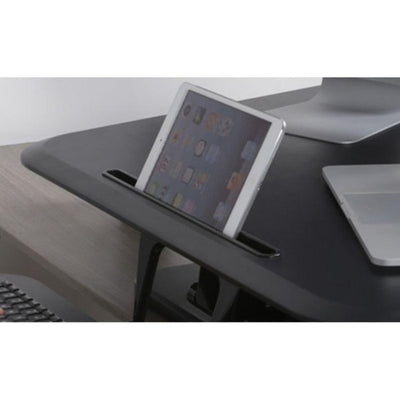 Flexispot M5 Compact Standing Desk Converter Phone Holder