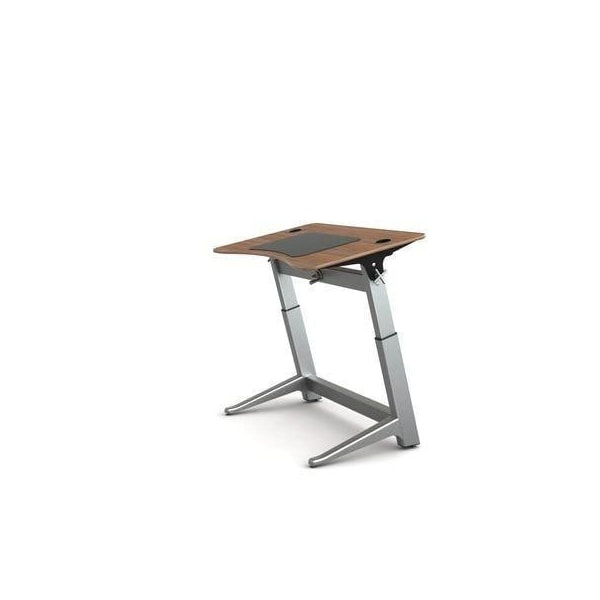 Focal Upright Locus Standing Desk Black Walnut 48 x 30 Locus 4