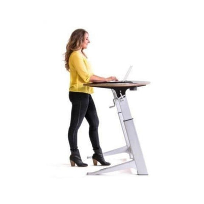 Focal Upright Sphere Standing Desk Side View