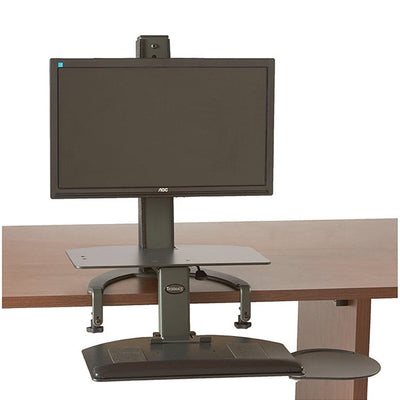 Health Postures Taskmate Go 6300  On Desk Low