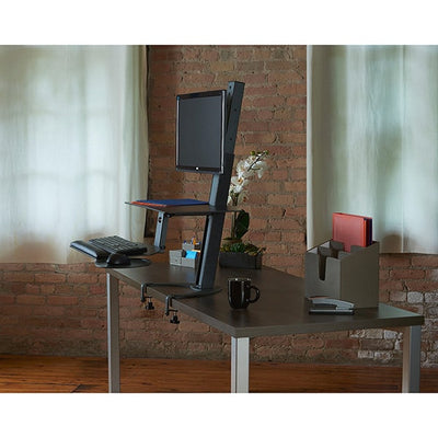 Health Postures Taskmate Go 6301 Side View