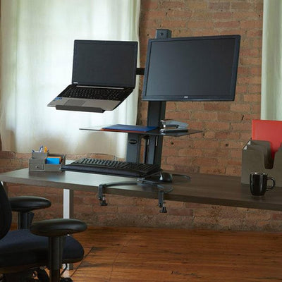 Health Postures Taskmate Go Laptop 6361 Top Front View