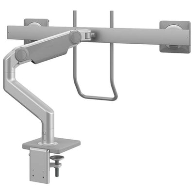 Humanscale M8.1 With Crossbar And Handle Silver Back