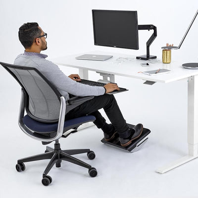 Humanscale FM500 Foot Rest Black Under Desk