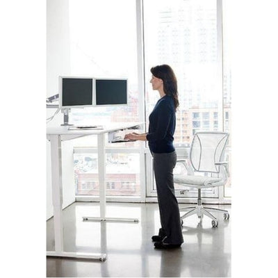 Humanscale Float Desk 3D VIew Standing