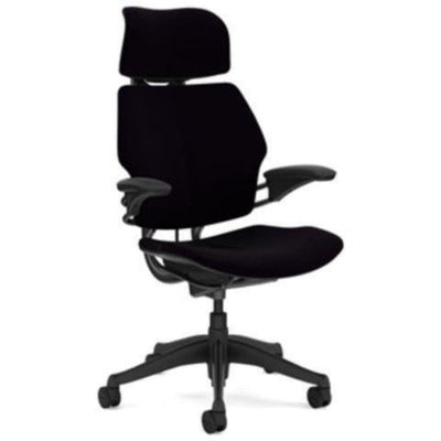 Humanscale Freedom Headrest Chair Black Vellum