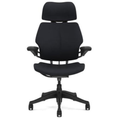 Humanscale Freedom Headrest Chair Graphite Vellum
