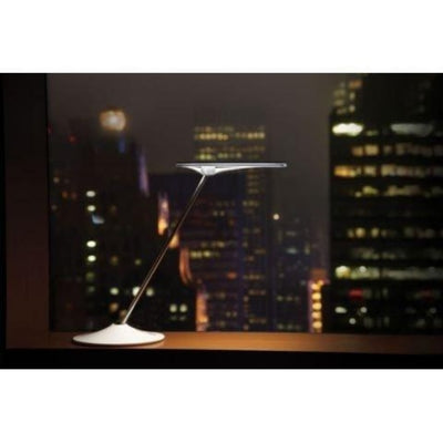 Humanscale Horizon LED Task Light Side View White
