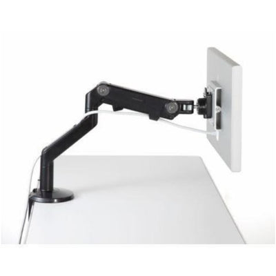 Humanscale M8 Monitor Arm Side View Extended