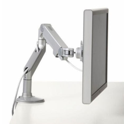 Humanscale M8 Monitor Arm Silver With Gray Trim