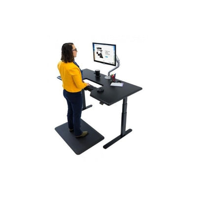 IMovR Lander Standing Desk with SteadyType Keyboard 3D View