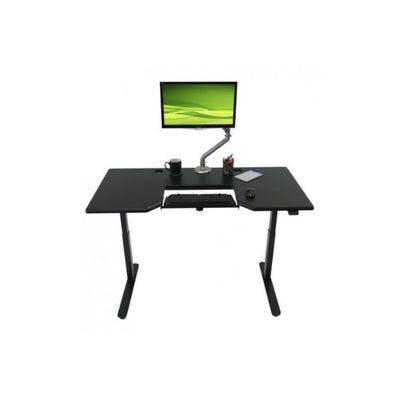 IMovR Lander Standing Desk with SteadyType Keyboard Front View