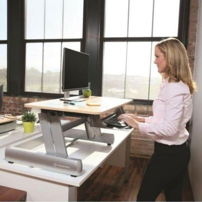 InMovement Standing Desk Converter DT2 3D View Rise
