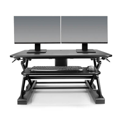 Innovative Winston Desk 2 - 36 Dual Monitor Front View