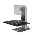 Innovative Winston E Single Monitor Electric Sit Stand Workstation