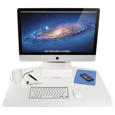 Innovative Winston Workstation Apple iMac Single Sit Stand Front View