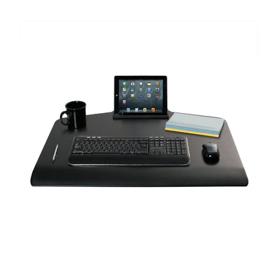 Innovative Winston Workstation Dual Monitor Sit Stand Keyboard Tray